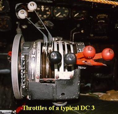 DOUGLAS DC3 Dc3throt